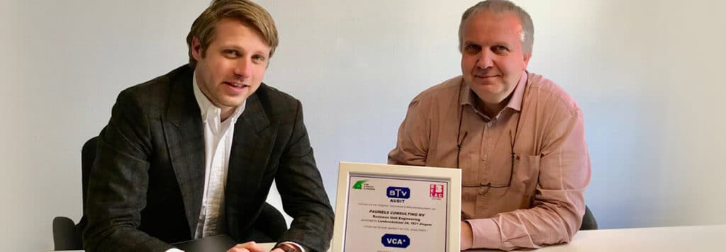 Pauwels Consulting VCA certified